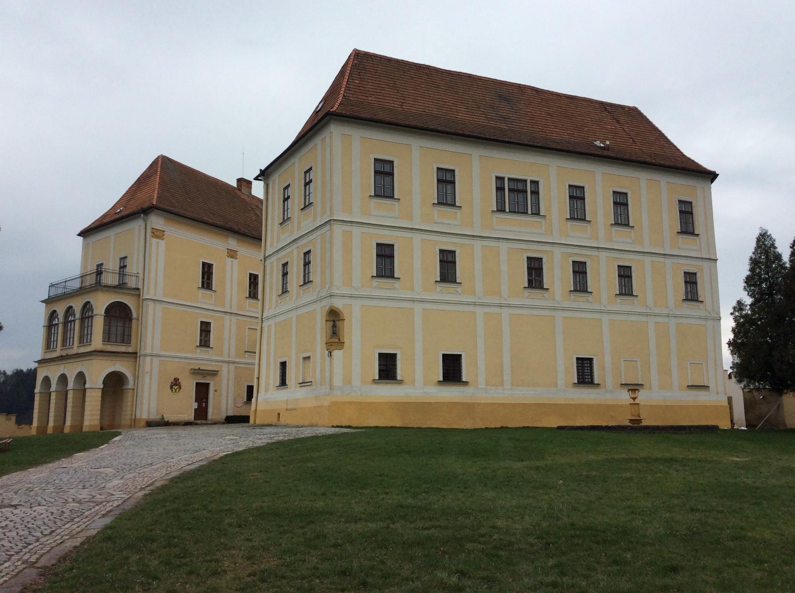 Rekonstrukce zámku Letovice trvá již od roku 2004